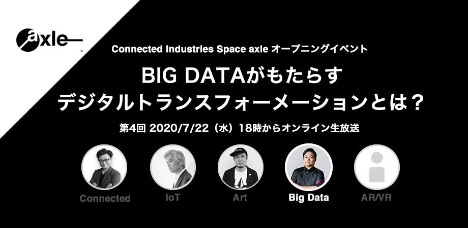 BIG DATAがもたらす、デジタルトランスフォーメーションとは?